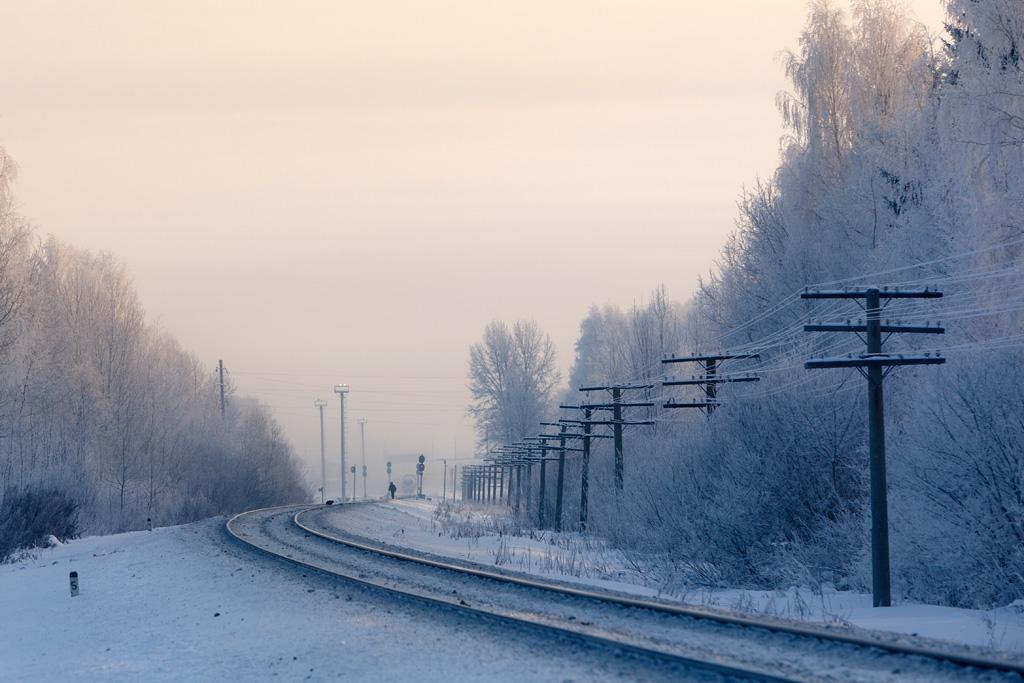 только рельсы картинка зимой совету профессионала