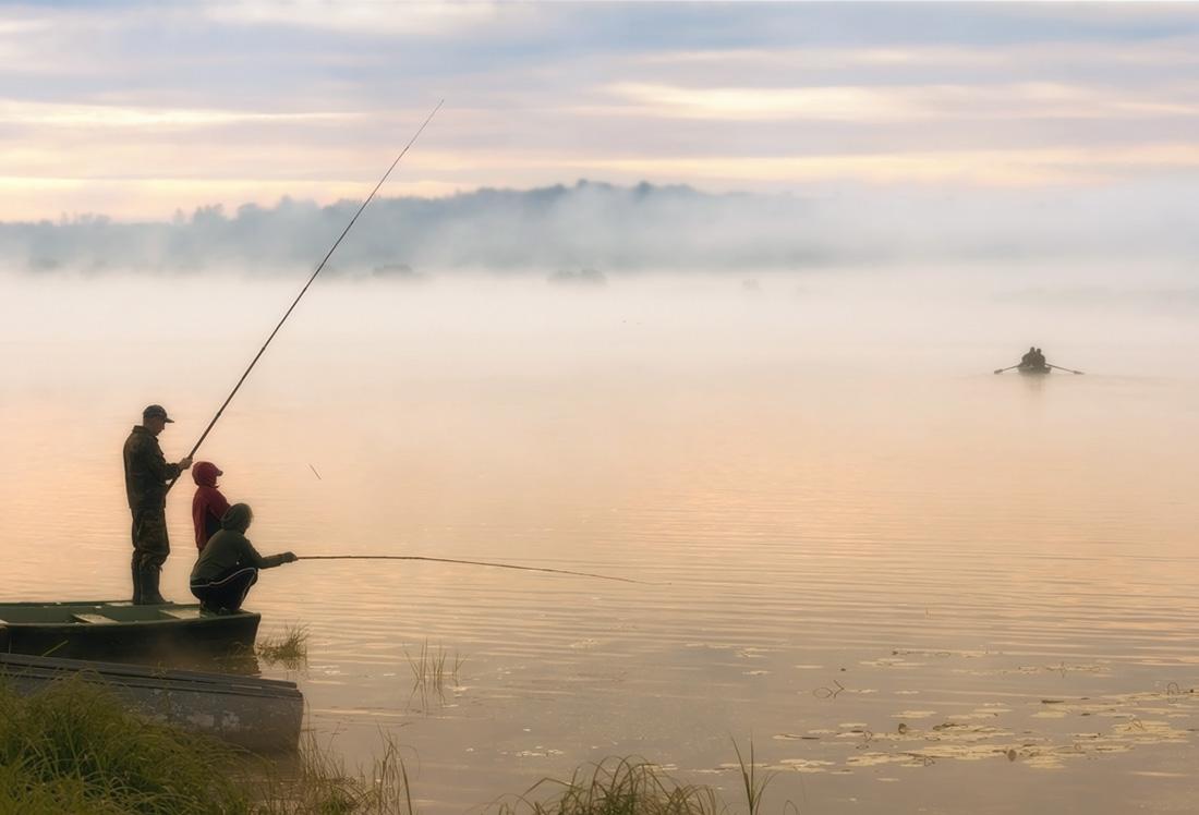 поле рыбака фото