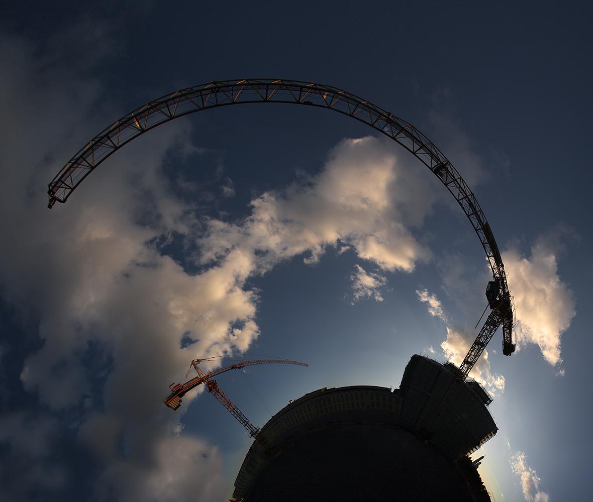 "фото ""Обнимая  московское небо..."" метки: пейзаж, архитектура, панорама,"