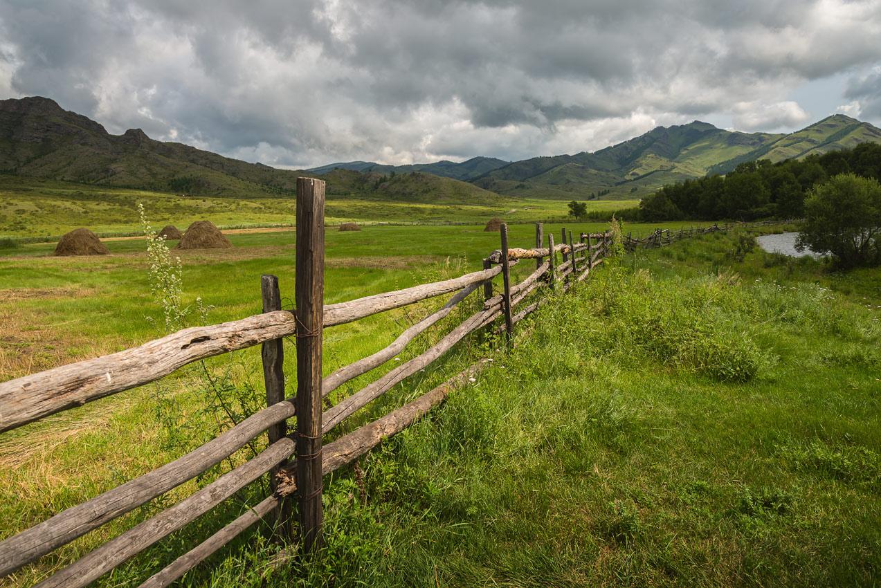 """фото """"Перед дождём."""" метки: пейзаж, природа,"""