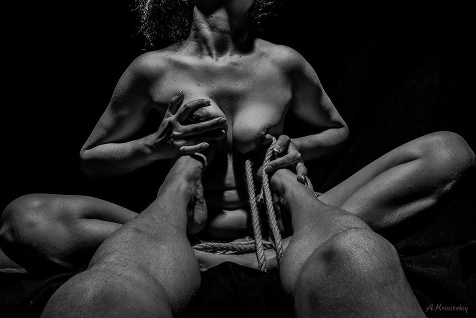 "фото ""Человеческое тело."" метки: ню, черно-белые, krivitsky, Александр Кривицкий, фотоактриса, хатха"