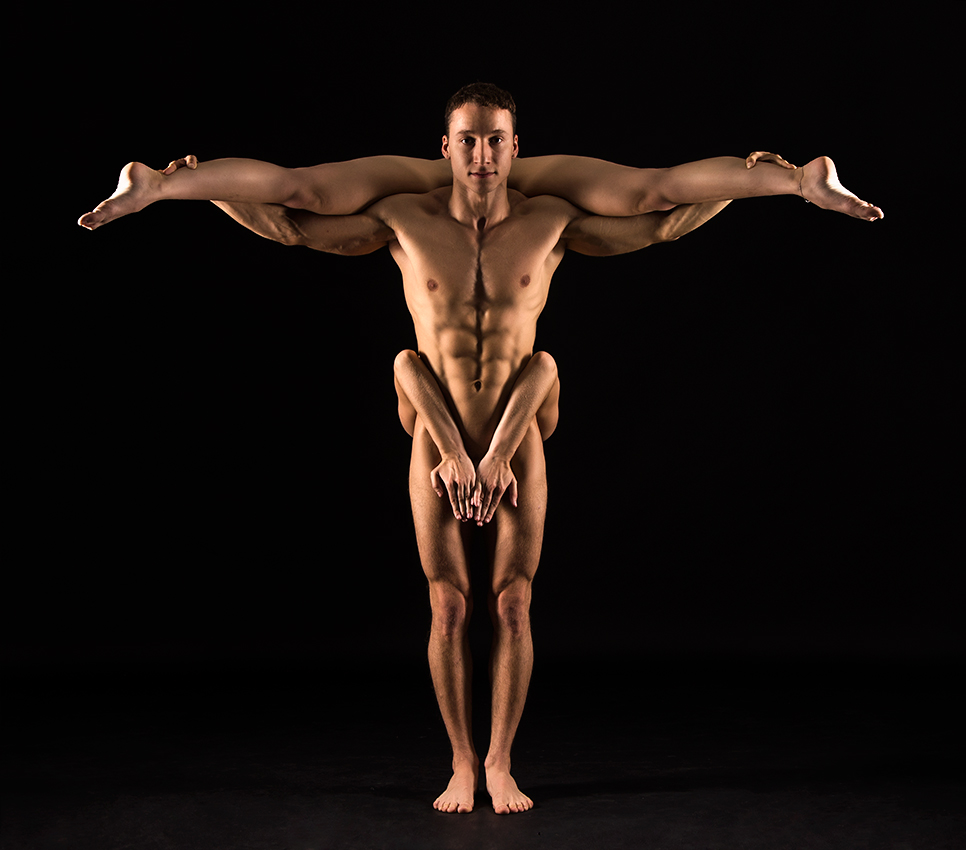 """photo """"From the series """"Gymnastics and ..."""""""" tags: nude, sport, Gymnastics, lik13vvs, nude art, woman, гимнастика"""