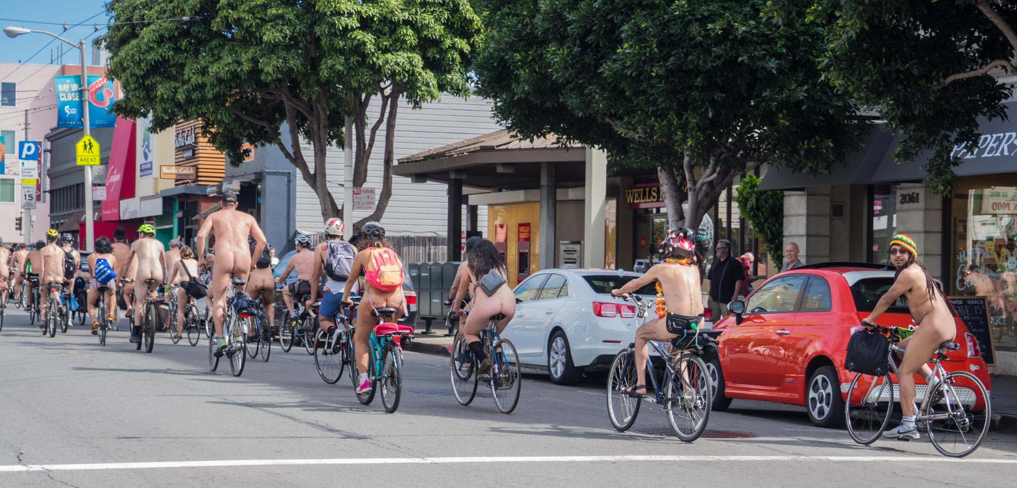 """фото """"The World Nude Bike Ride SF 2015"""" метки: ню, репортаж, стрит-фото,"""