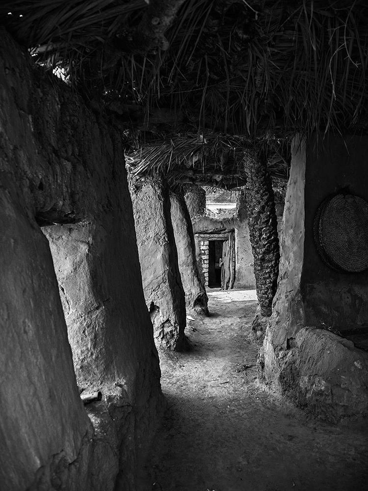 "фото ""Oasis Aechitecture"" метки: архитектура, путешествия, черно-белые, desert, Африка"