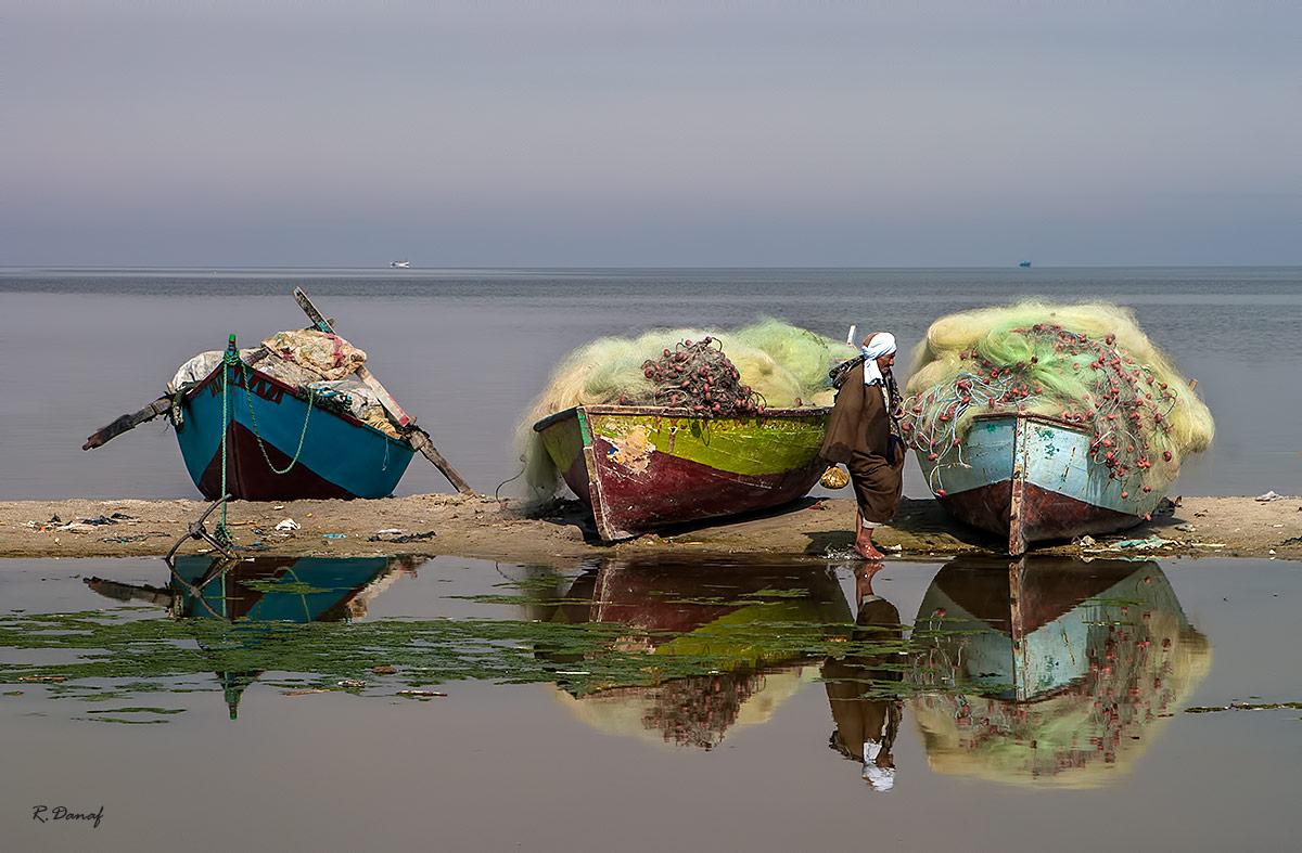 """photo """"The fisherman"""" tags: landscape, portrait,"""