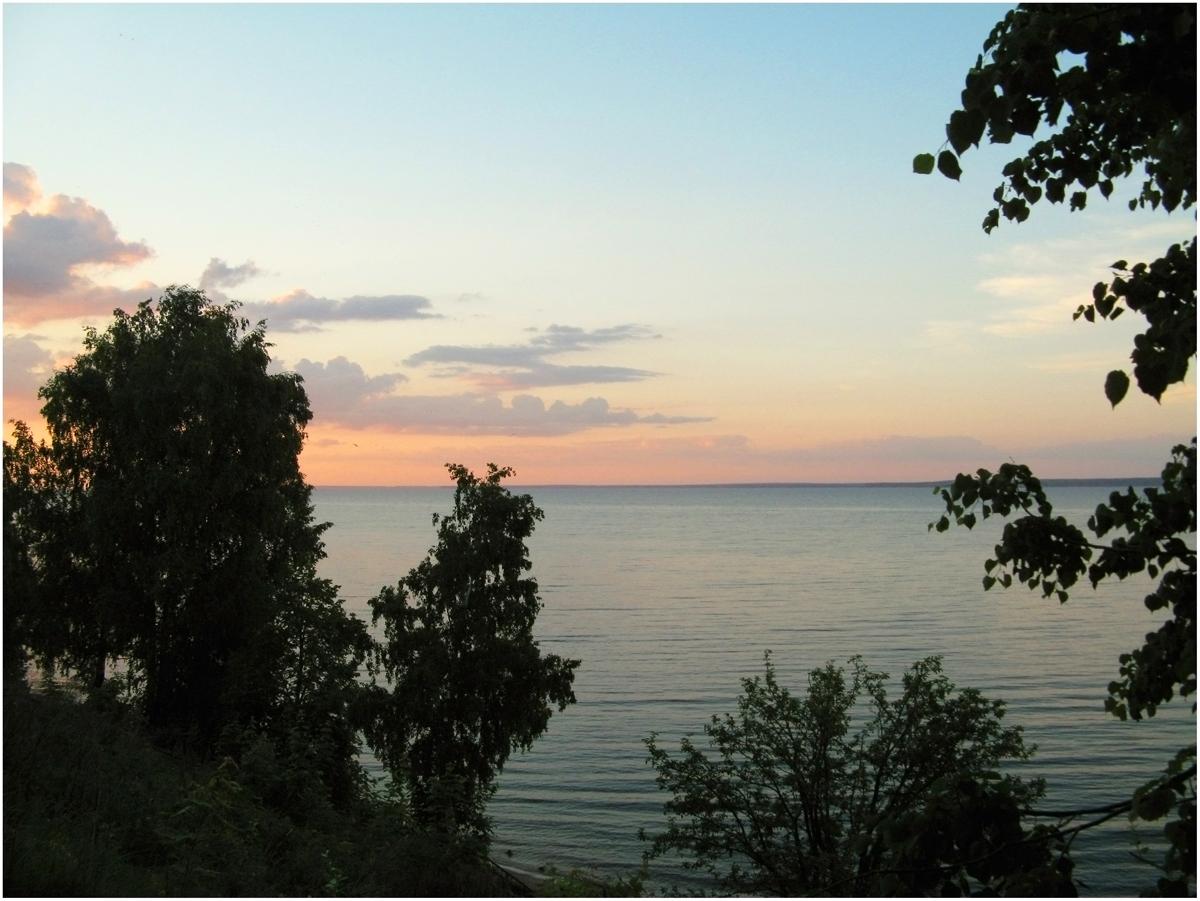 Пляж белая речка на горьковском море фото