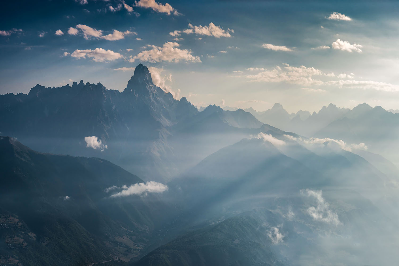 "photo ""***"" tags: landscape, nature, Balkhovitin, Landscape, clouds, light, mountain, mountains, photographer, sky, Грузия, Кавказ, Сванетия, Ушба, путешествие, скала"
