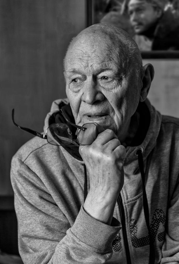 "photo ""N.S. Lebedev"" tags: portrait,"