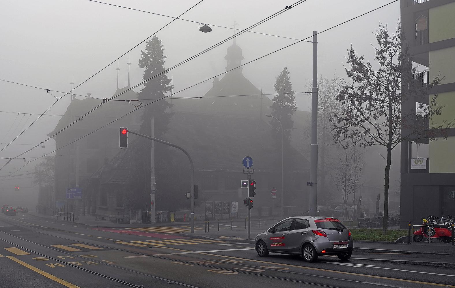 """фото """"Туманное утро"""" метки: город,"""