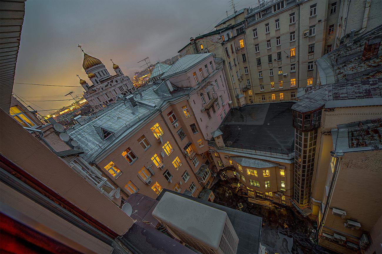 """фото """"Вечерняя"""" метки: город,"""