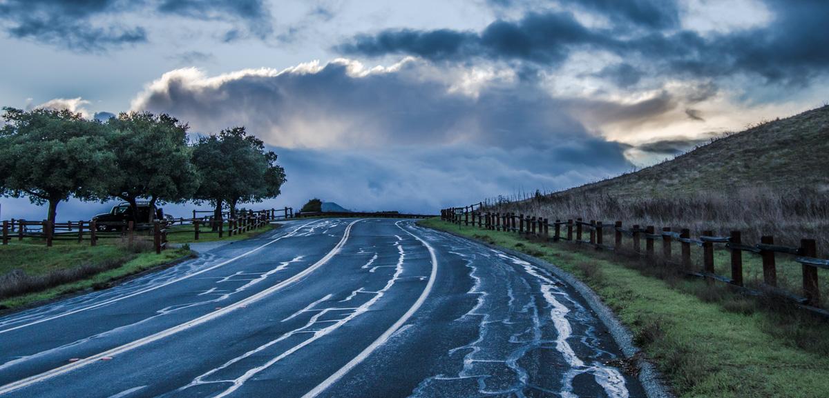 """фото """"После Дождя"""" метки: пейзаж, Parking, парковка"""