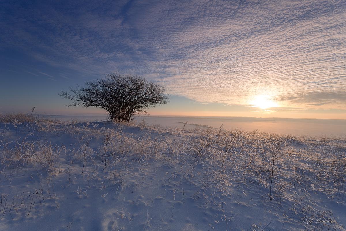 """фото """"Акварели по морозцу ..."""" метки: пейзаж,"""