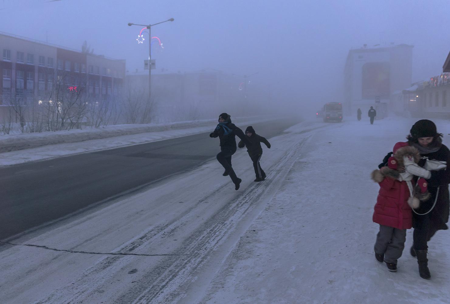 "photo ""Рождественский морозец"" tags: street,"