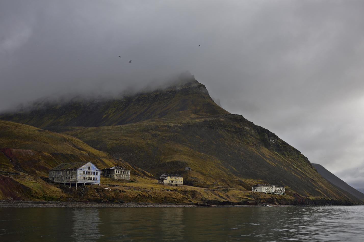 "photo ""***"" tags: , island, mountains, summer, Шпицберген, путешествие"