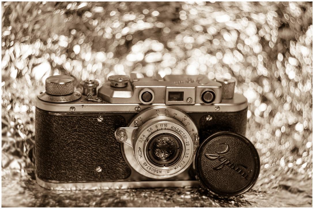 "photo ""***"" tags: still life, black&white, bw, Зоркий, боке, камера, сепия, чёрно белое"