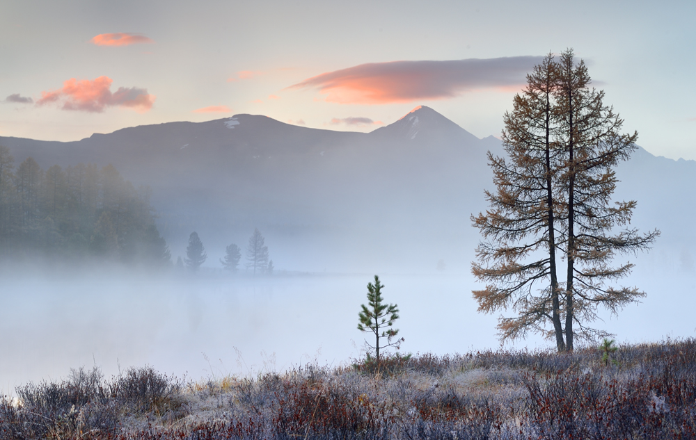 "photo ""***"" tags: landscape, nature, travel, autumn, fog, mountains, sunrise, впечатления, путевые заметки"