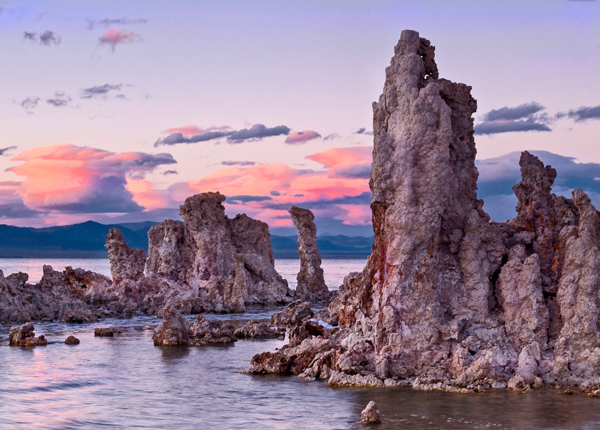 "photo ""Закат на Mono Lake"" tags: ,"