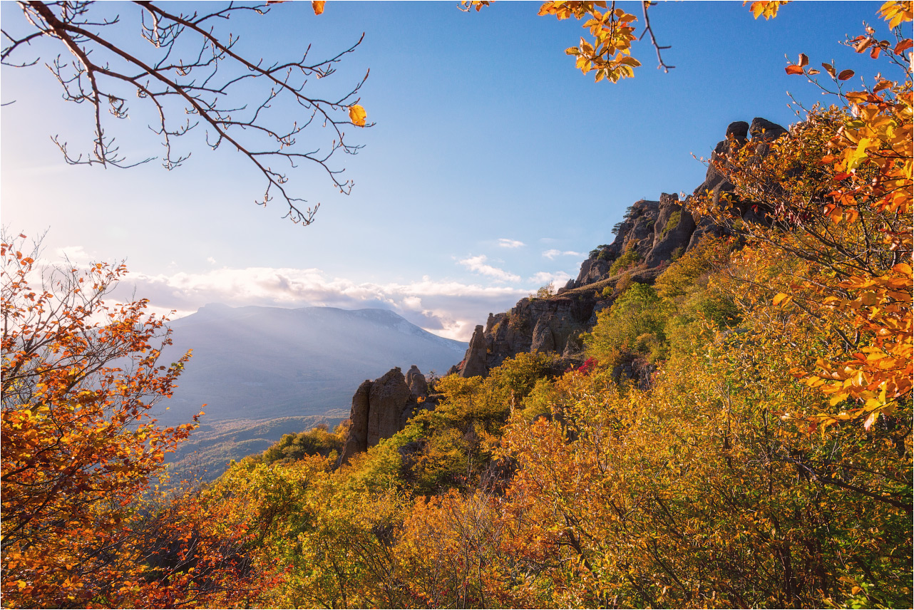 "photo ""***"" tags: landscape, travel, nature, Crimea, Russia, autumn, mountains, демерджи"