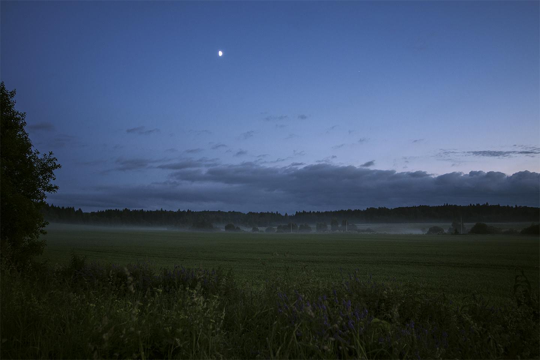 "photo ""***"" tags: landscape, лунная ночь, ночной пейзаж"