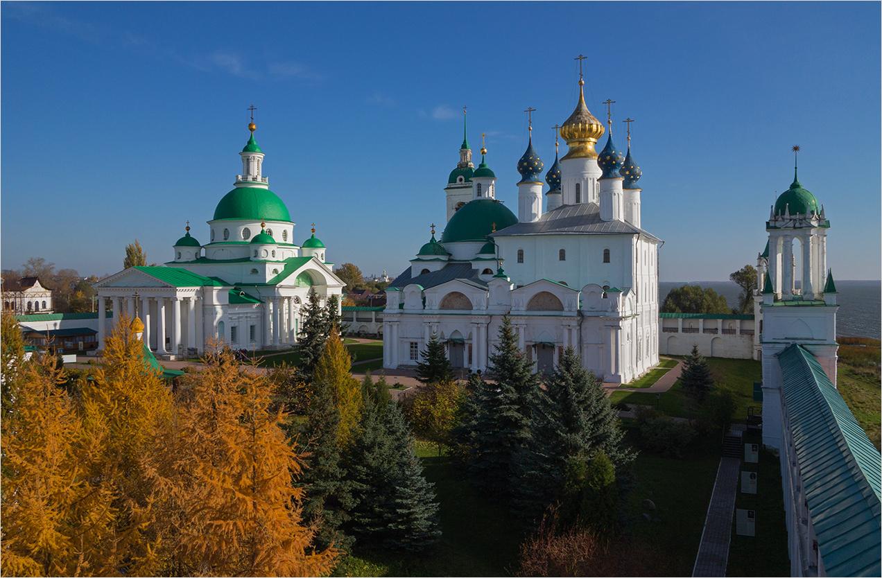"photo ""***"" tags: architecture, landscape, autumn, temple, монастырь"