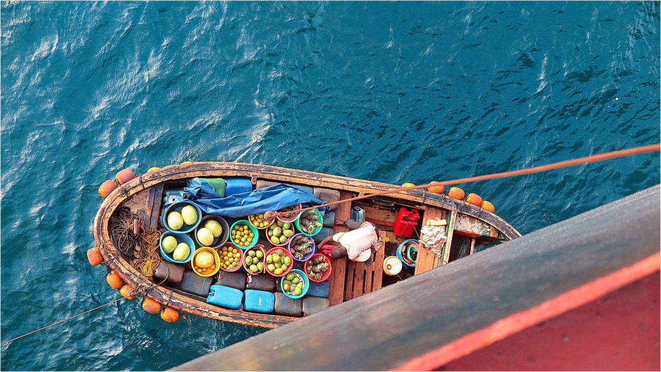 "photo ""Fruit boat"" tags: misc.,"