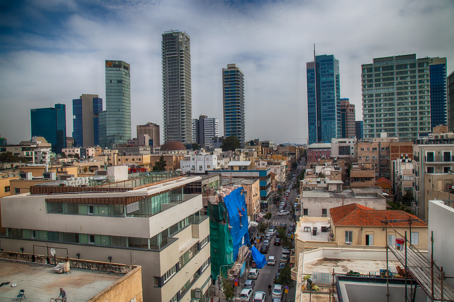 "photo ""Tel-Aviv 5017"" tags: architecture, city, Photographer Alexander Tolchin"