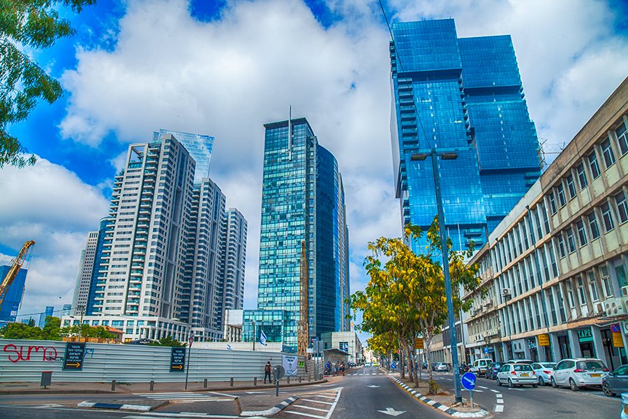 "photo ""Tel-Aviv 6997"" tags: architecture, city, Photographer Alexander Tolchin"