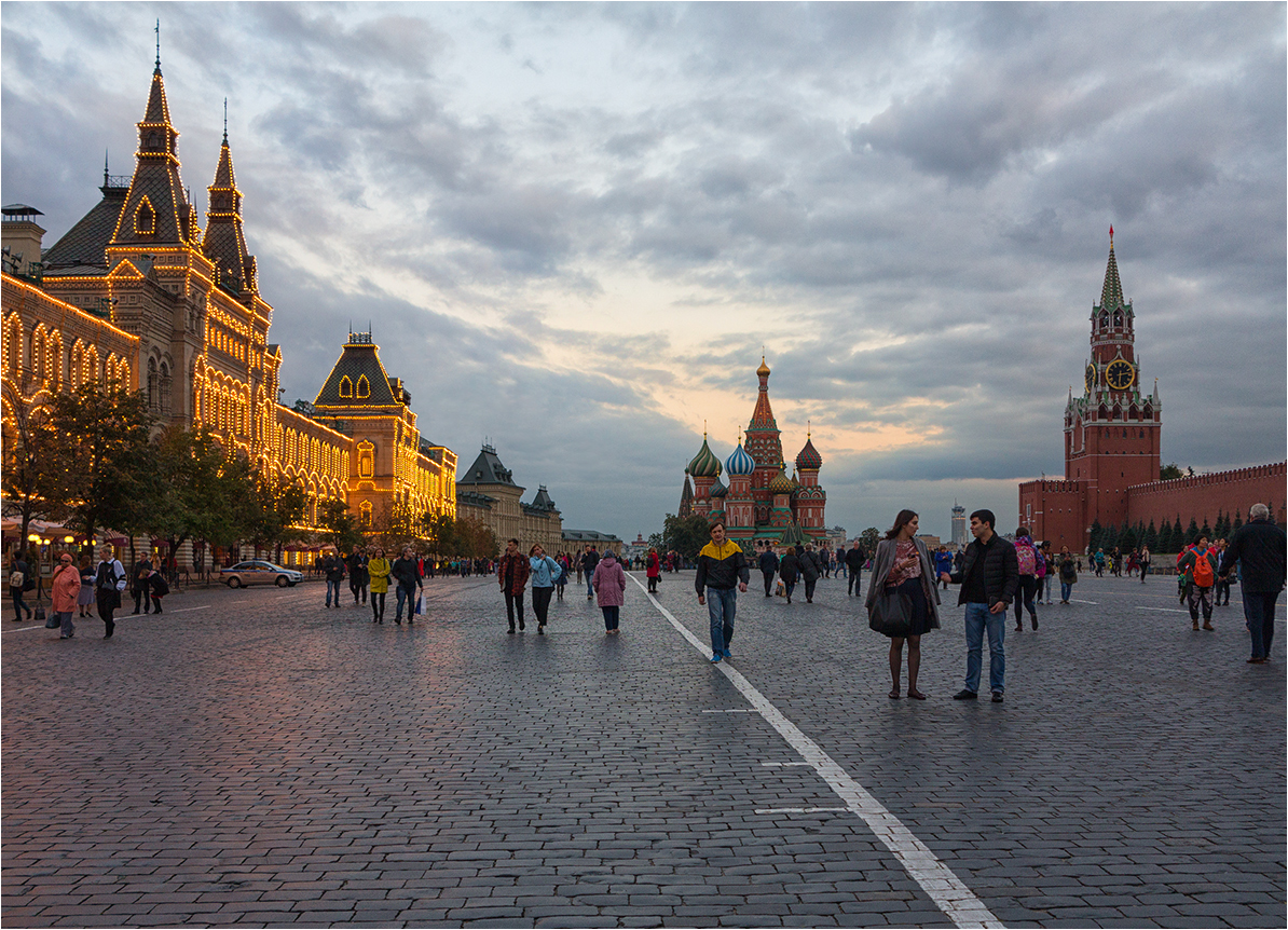 "photo ""***"" tags: city, architecture, Moscow, evening"