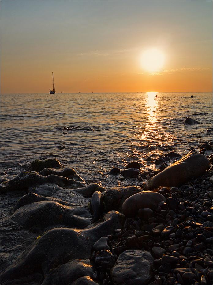 "photo ""***"" tags: landscape, evening, sea, sunset"