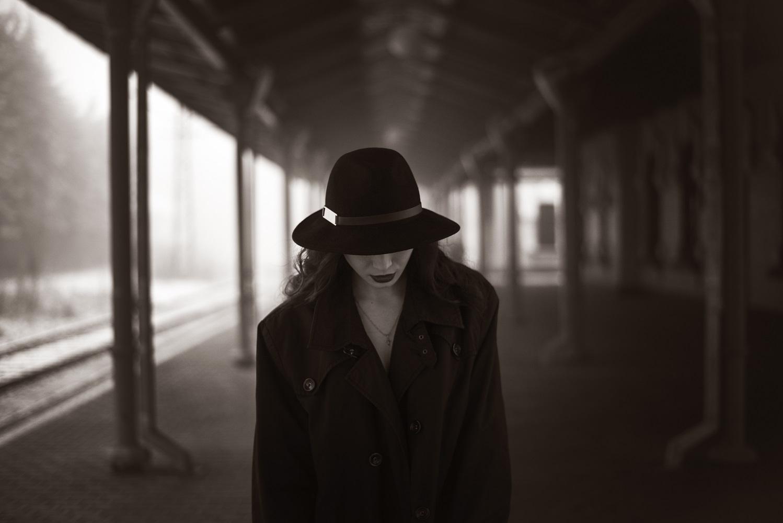 """фото """"Одинокий Холод"""" метки: портрет, архитектура, черно-белые,"""