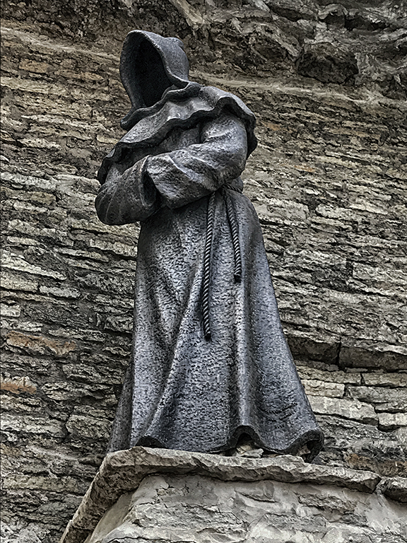 """photo """"The Black Monk"""" tags: misc.,"""