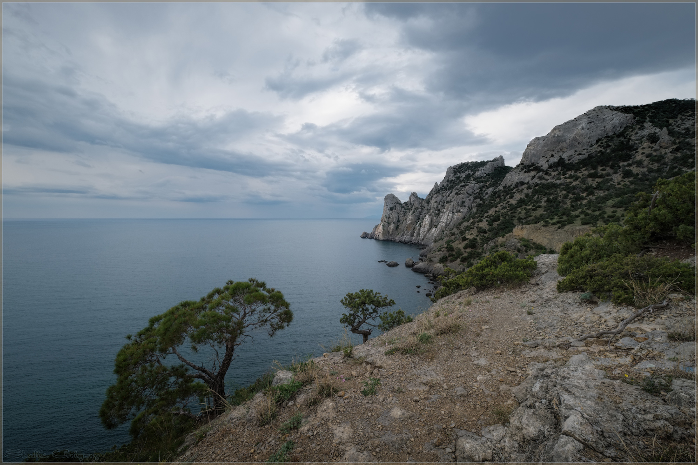 "photo ""***"" tags: landscape, clouds, sea, ветер"