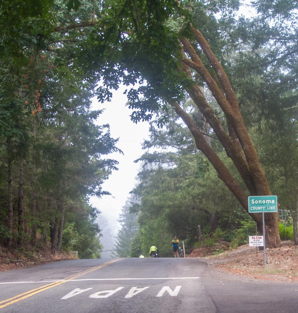 "photo ""Так выглядел въезд в SONOMA до Пожара."" tags: , Across California, Sonoma"