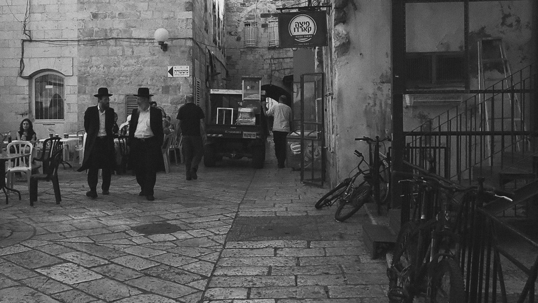 """photo """"In The Old City"""" tags: street,"""
