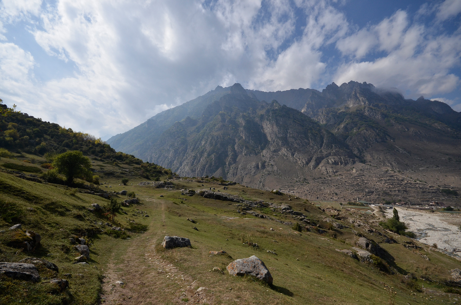 "photo ""***"" tags: landscape, mountains, Балкария, Кавказ"