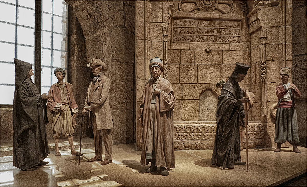 """photo """"The Old City men"""" tags: misc.,"""
