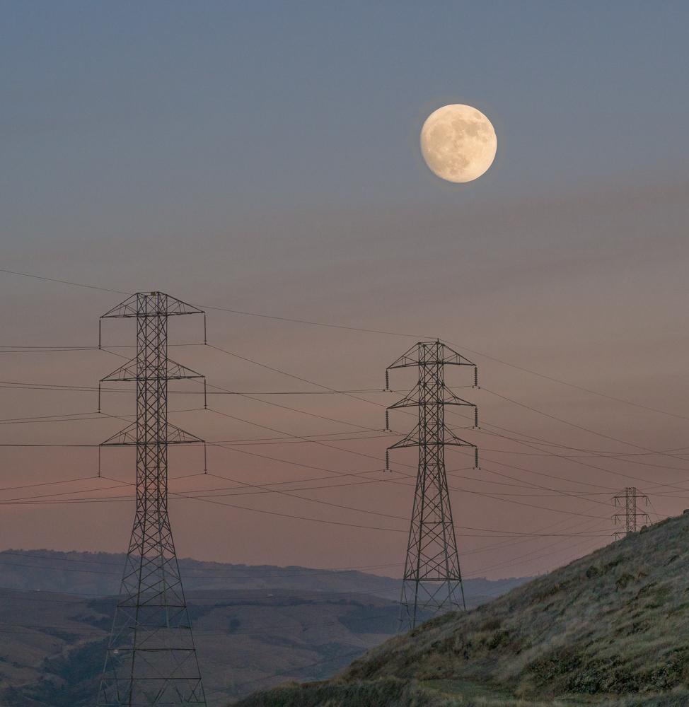 "фото ""Полнолуние Декабрь 2017"" метки: пейзаж, Full Moon, полнолуние"