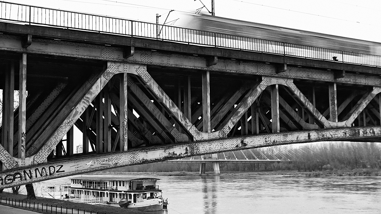 "photo ""The Bridge"" tags: black&white,"