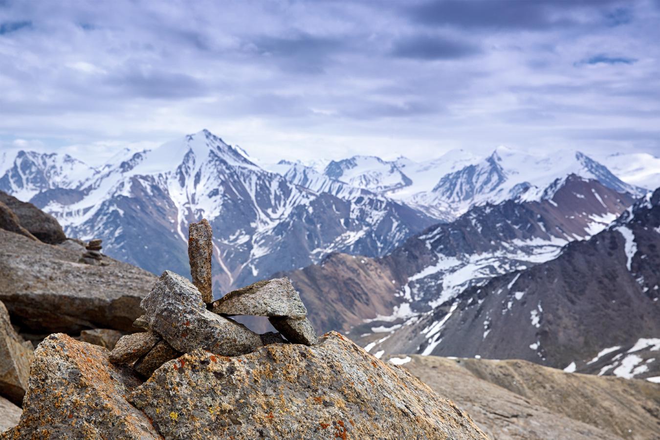 фото горы тянь шань узлы составляющая часть