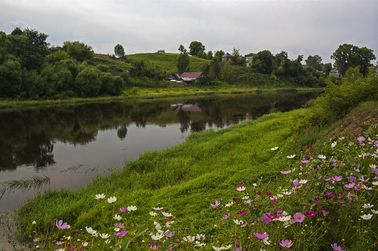 "photo ""***"" tags: landscape, river, summer"