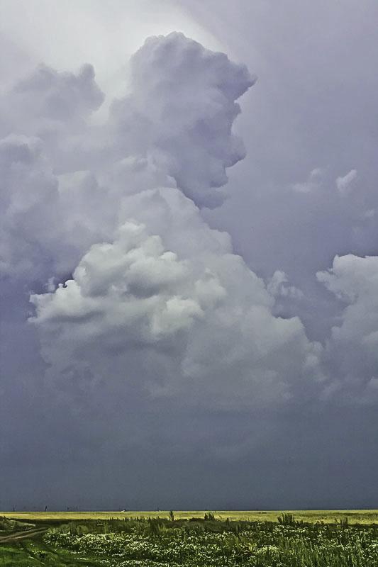 """фото """"Человеческие головы в облаках. РИСУЕТ ВЕТЕР НА НЕБЕ."""" метки: пейзаж, человеческие образы в облаках, человеческие портреты в облака"""