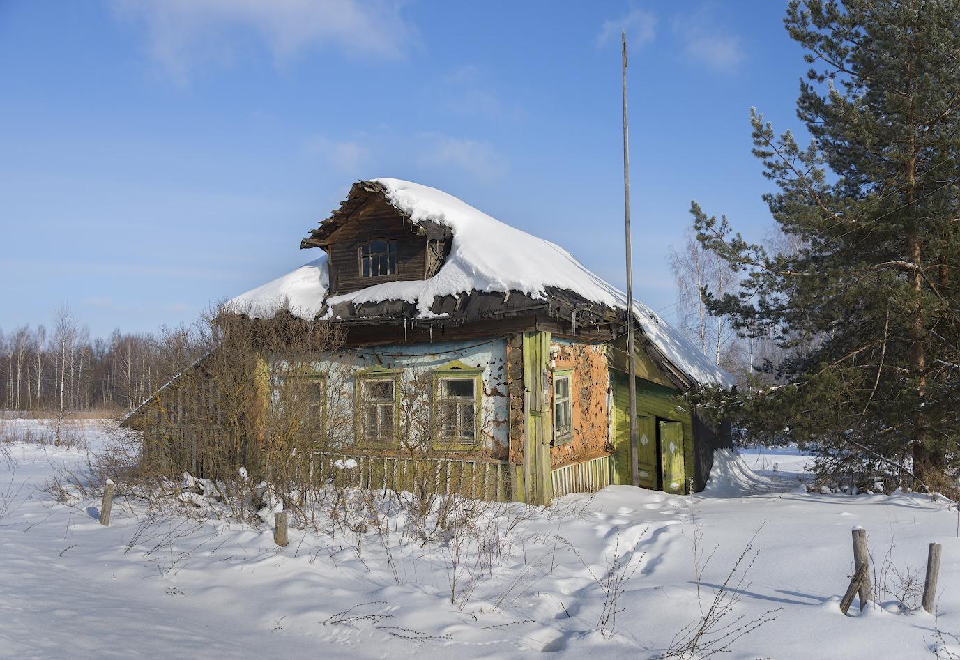 "фото ""Крайний  дом в деревне"" метки: архитектура, путешествия, разное,"