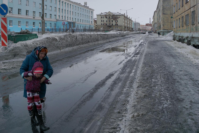 "photo ""Оттепель"" tags: street,"