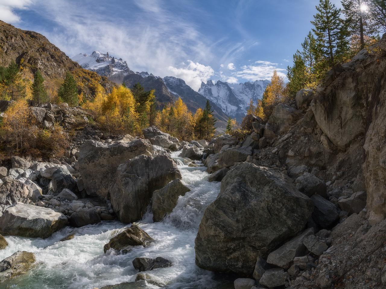 "photo ""***"" tags: landscape, Russia, Кабардино-Балкария, Шхельдинское ущелье"
