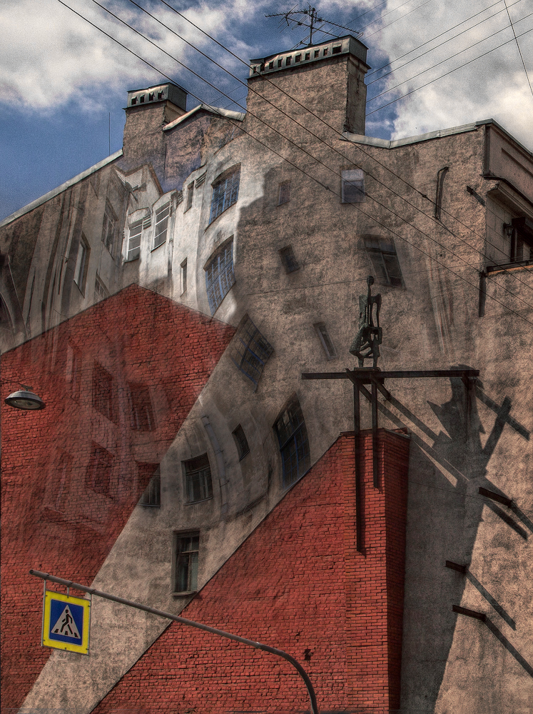 """photo """"***"""" tags: architecture, montage,"""