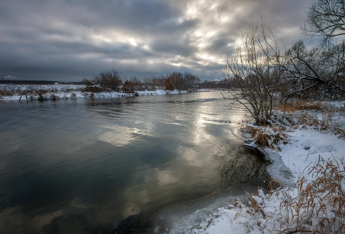 "photo ""***"" tags: landscape, autumn, river, water, Клязьма"