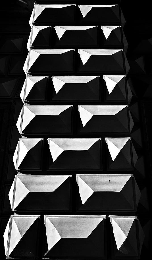 """photo """"Черно-белая стена"""" tags: black&white, Prag, Prague, Praha"""