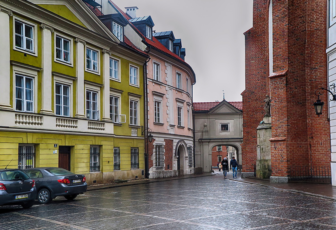 "photo ""Somewhere in Warsaw"" tags: city,"