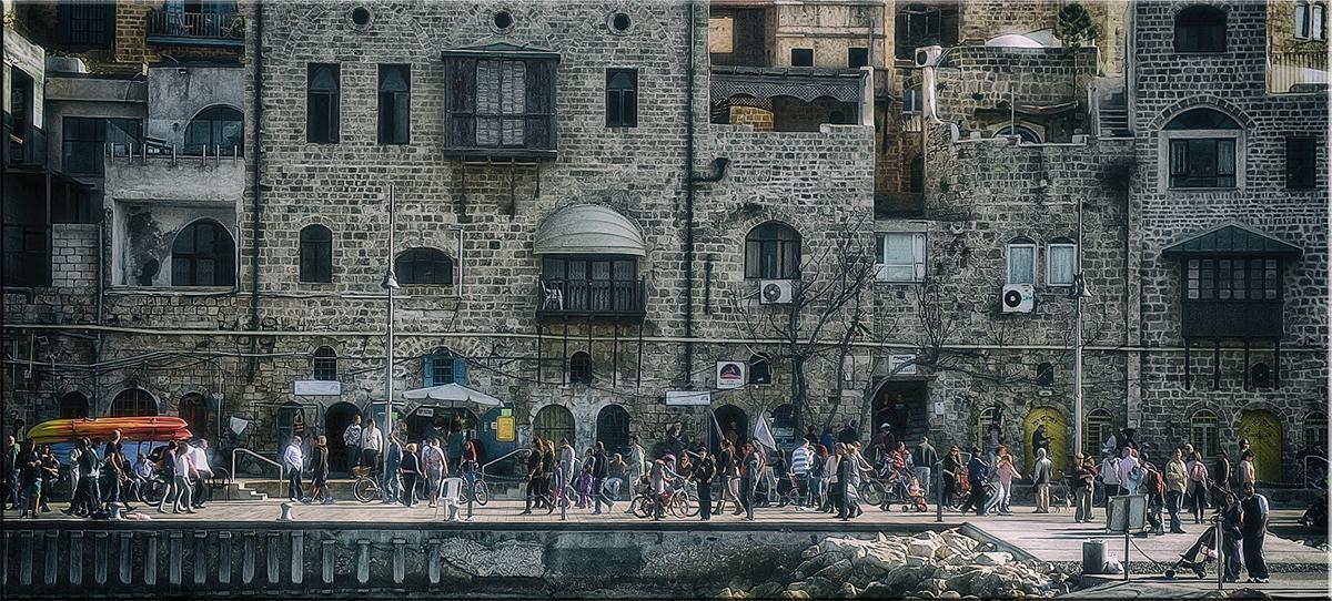"photo ""Promenade"" tags: travel, city,"