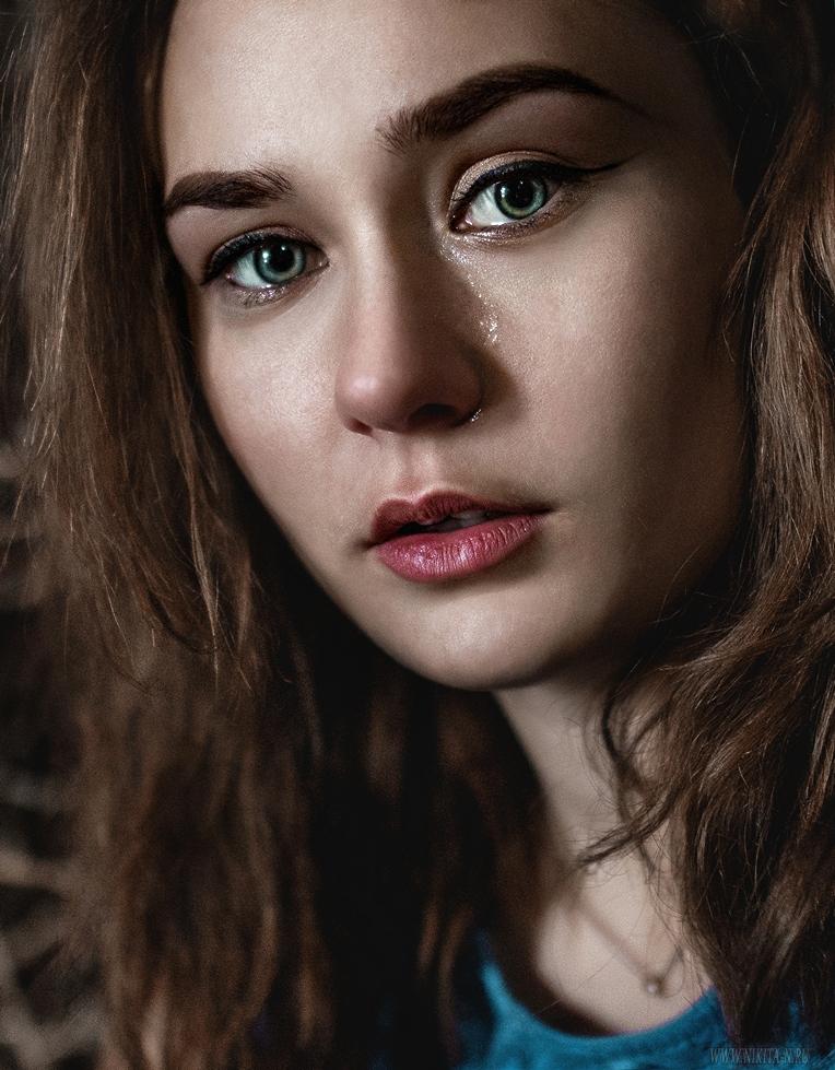 "photo ""***"" tags: portrait, girl, девушка - красавица, красиво, модель, потрет, фото - Дарья Воронина, эмоции"